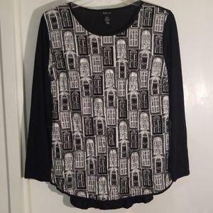 Style & Co size L blouse